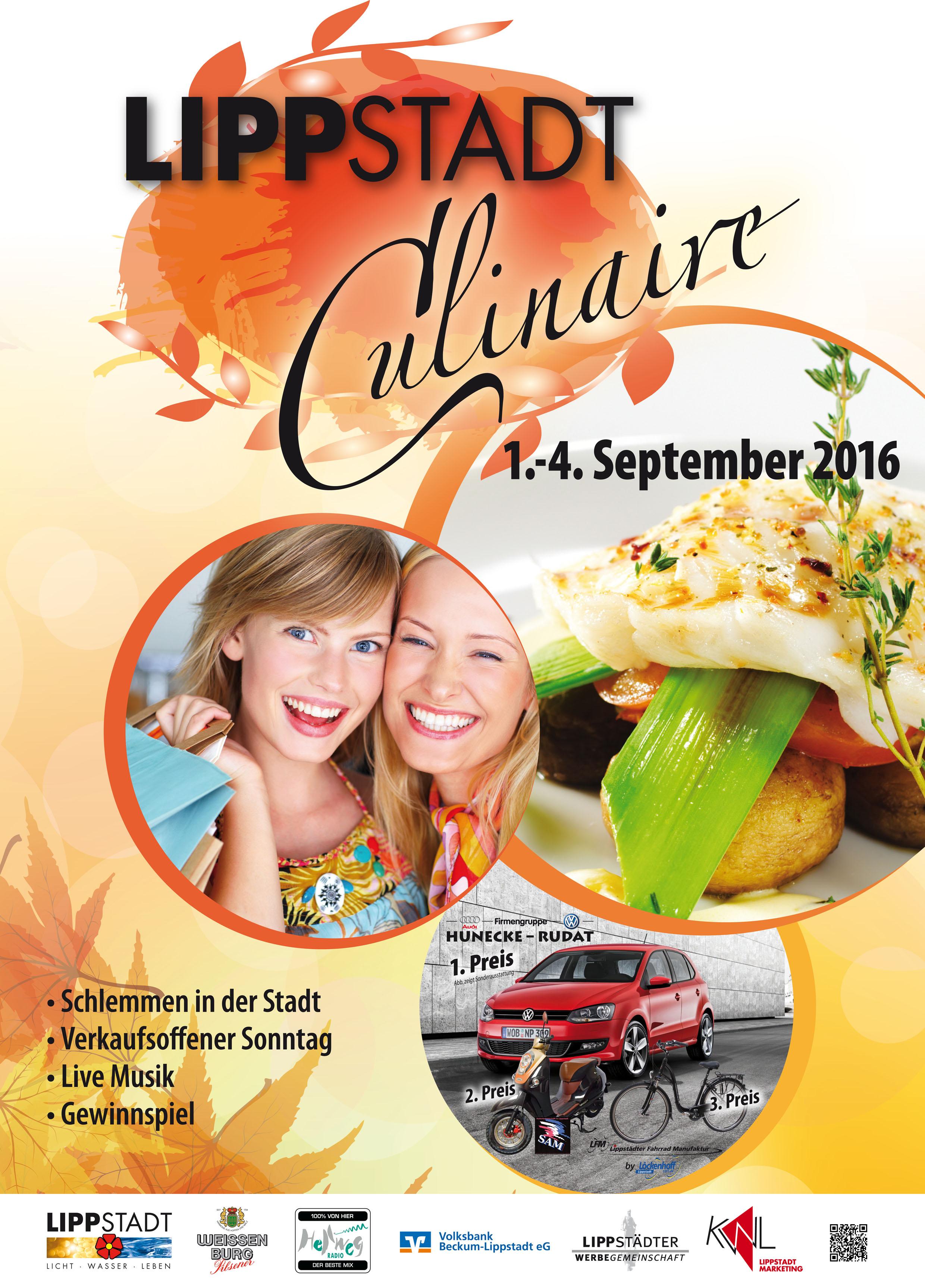 Lippstadt Culinaire-Plakat