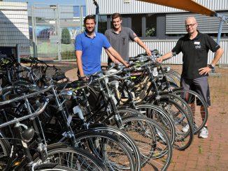 17 Fahrräder spendet die Gebrüder Gauselmann