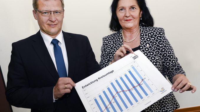 Volker Topp und Landrätin