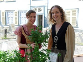 Lena Berger (l.) und Christina Wulf (r.)