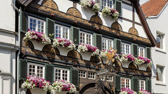 """Gasthof """"Goldener Hahn"""", Lippstadt"""