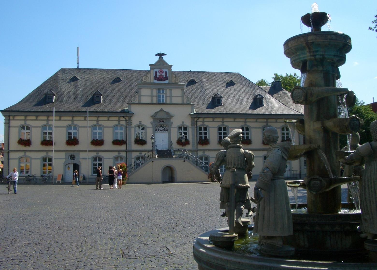 Rathausplatz Lippstadt