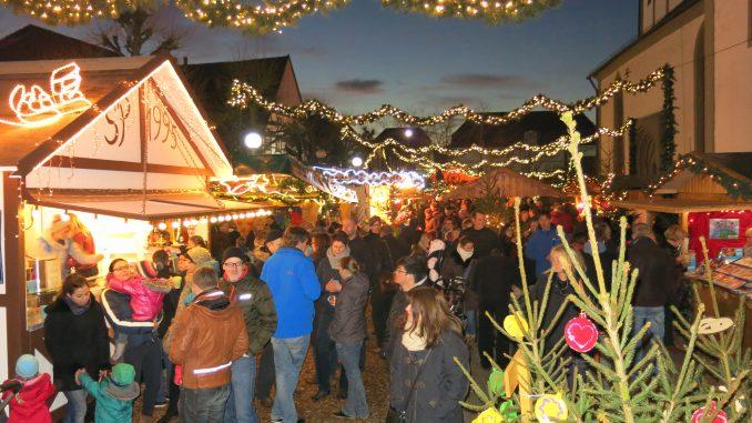Weihnachtsmarkt Absenkung Marienkirche