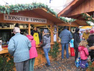 Service Clubs auf dem Weihnachtsmarkt - Lions Club