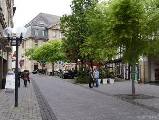 Visualisierung einer ersten Planungsidee für die Poststraße als Diskussionsgrundlage. Foto: 3dARSTELLER