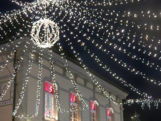 Weihnachtsmarkt - Beleuchtung