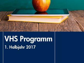 VHS-Programm 1. Hj. 2017