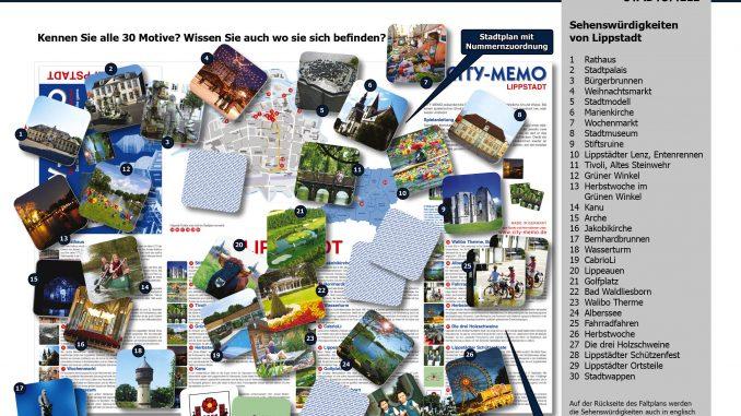 City-Memo Lippstadt - Übersichtsplan