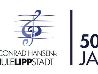 Logo 50 Jahre Musikschule Lippstadt
