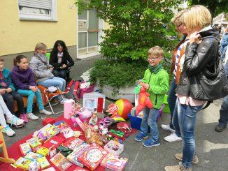 Altstadtfest -Kinderflohmarkt