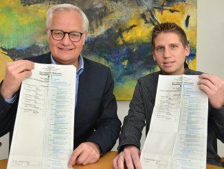 Wahlorganisatoren Foto: Wilhelm Müschenborn/ Kreis Soest