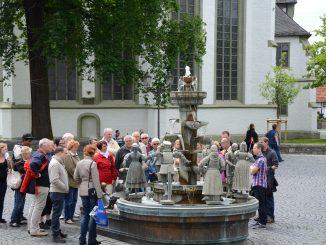 Historische Stadtführung Bürgerbrunnen