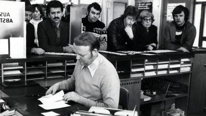 Schreibmaschinen statt EDV