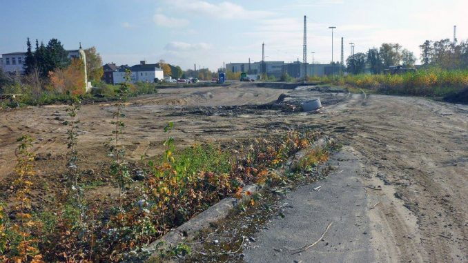 Das Gelände des ehemaligen Güterbahnhofes. Foto: Stadt Lippstadt