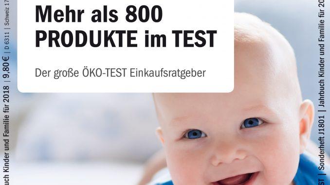 Titelbild/Cover ÖKO-TEST Jahrbuch Kleinkinder 2018