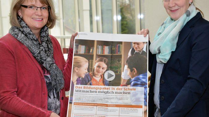 Birgit Kraft-Pankoke und Denise Grabowski (v.l.)