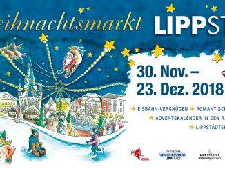 OE-Schild Weihnachtsmarkt 2018