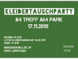 Kleidertauschparty 326x245 - Kleidertauschparty im TAP am 17. November 2018