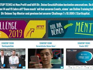 Screenshot STARTUP TEENS    https   www.startupteens.de  326x245 - Startup Teens-Event in Lippstadt