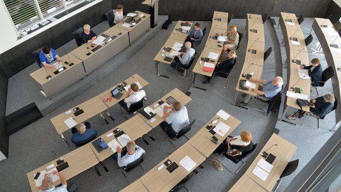 Sitzungssaal des Kreishauses in Soest